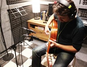 Grabación del primer EP de Swing Leré
