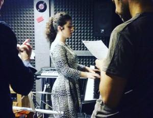 Produciendo el primer trabajo de Alexandra Gavrila
