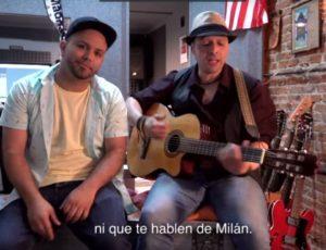 Conciencia Urbana graba canción dedicada a la final de la Champions League