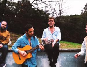 Sinsinati graba su nuevo single con la producción de Pablo Sciuto en Casa Sonora.