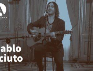 Pablo Sciuto en el ciclo Música en Palacio de Casa de América, mezcla y mastering Casa Sonora.